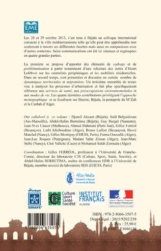 4eme La ville méditerranéenne : défis et mutations