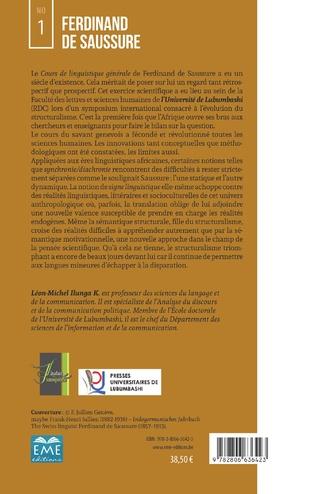 4eme Ferdinand de Saussure