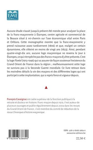 4eme La Franc-Maçonnerie à Étampes (1806-2000)