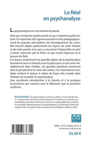 4eme Le Réel en psychanalyse