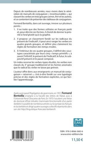 4eme Le verbe et sa conjugaison en français parlé