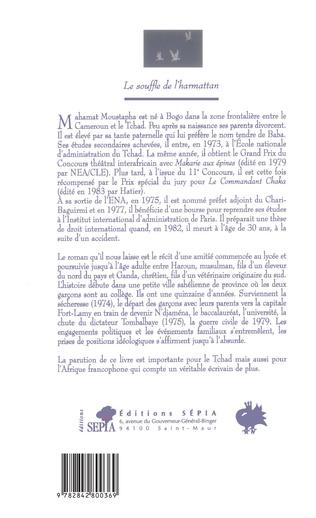 4eme LE SOUFFLE DE L'HARMATTAN
