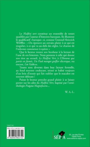 4eme Le Malfini vert