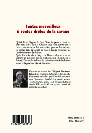 4eme Contes merveilleux & contes drôles de la savane