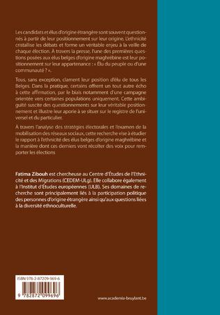 4eme La participation politique des élus d'origine maghrébine