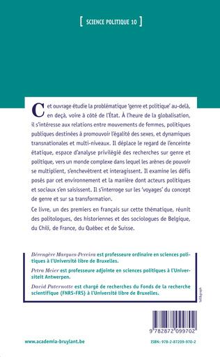 4eme Chapitre 4 - Diversité des figures du militantisme transnational des femmes en Europe