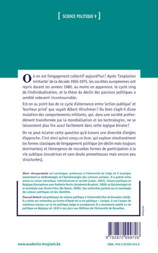 4eme Chapitre 3 - L'intérêt politique des jeunes, une conception multidimensionnelle