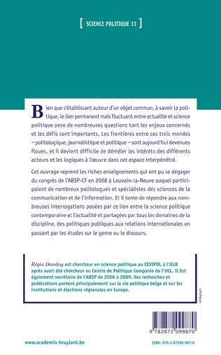 4eme Science politique et actualité : l'actualité de la science politique