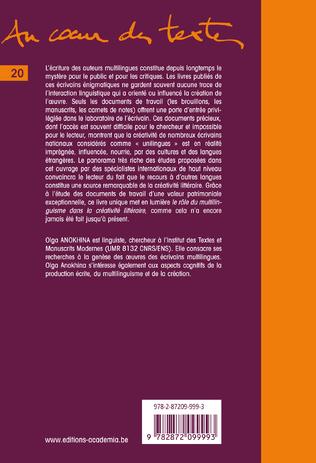 4eme Multilinguisme et créativité littéraire