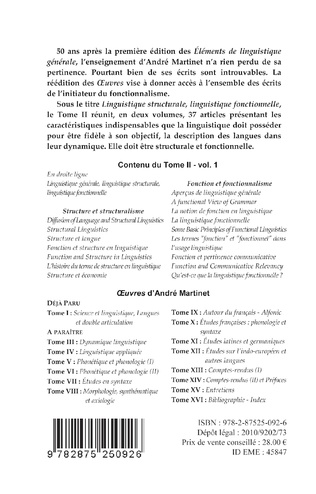 4eme Oeuvres (Tome II, Volume 1)
