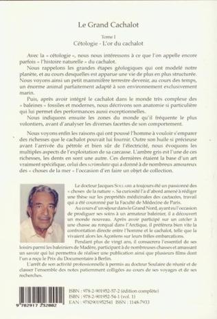 4eme Le grand cachalot (Trois volumes)