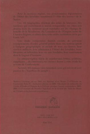 4eme Dictionnaire biographique des invalides décorés de la Légion d'honneur sous Napoléon
