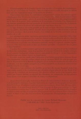 4eme 1914-1918 Dictionnaire des combattants de la Manche morts pour La France