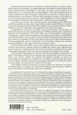 4eme La liberté générale ou les colons à Paris