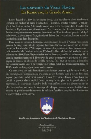 4eme Les souvenirs du vieux Slovène
