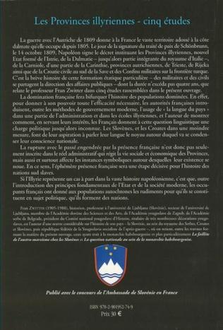 4eme Les provinces illyriennes