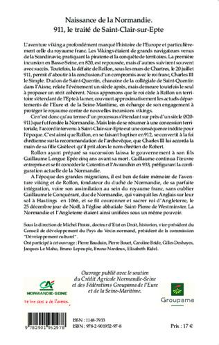 4eme Naissance de la Normandie