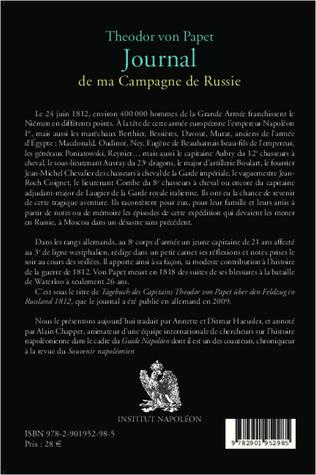 4eme Journal de ma campagne de Russie