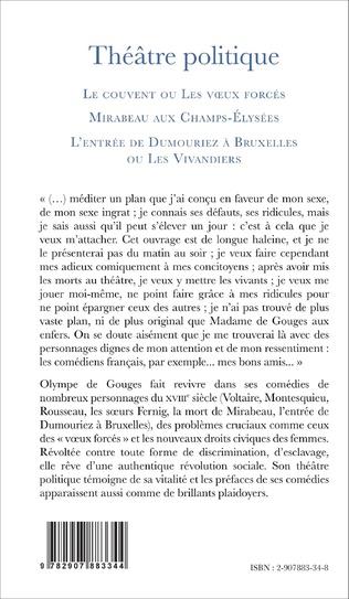 4eme Théâtre politique (Tome 1)