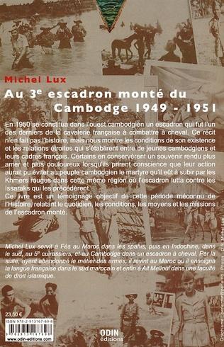 4eme Au 3e escadron monté du Cambodge