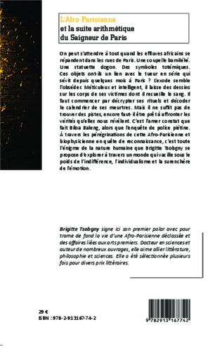 4eme L'Afro-Parisienne et la suite arithmétique du Saigneur de Paris