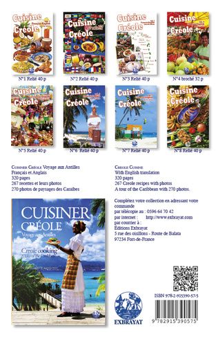 4eme Cuisine Créole  vol.1