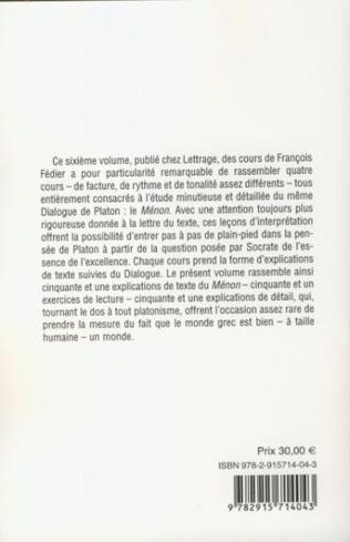 4eme Le Ménon