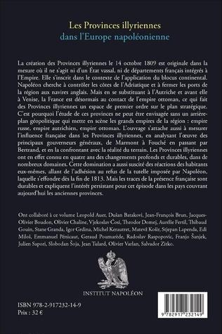4eme Les Provinces illyriennes dans l'Europe napoléonienne (1809-1813)