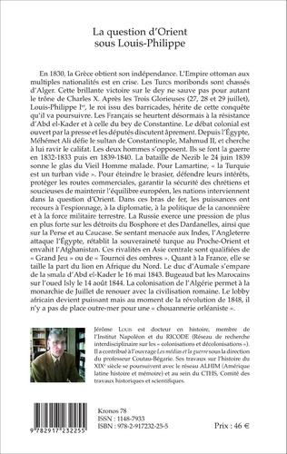 4eme La question d'Orient sous Louis-Philippe