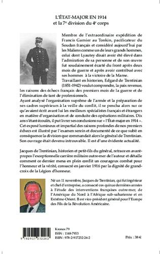 4eme L'Etat-major en 1914 et la 7e division du 4e corps