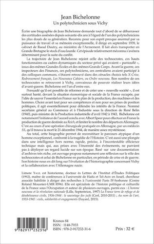 4eme Jean Bichelonne un polytechnicien sous Vichy (1904-1944)