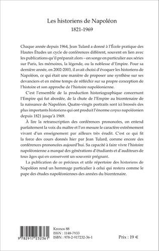 4eme Les historiens de Napoléon
