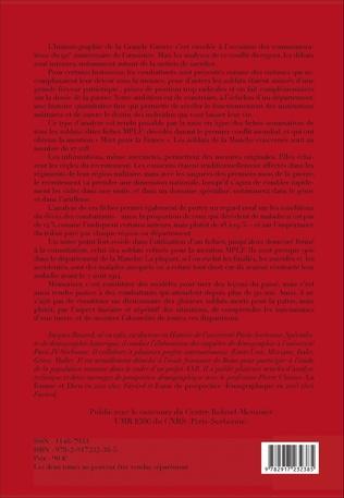 4eme 1914-1918 Dictionnaire des combattants de la Manche