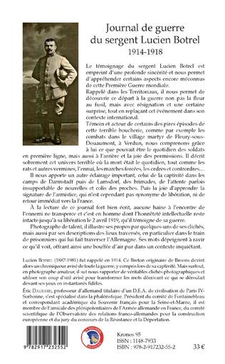 4eme Journal de guerre du sergent Lucien Botrel