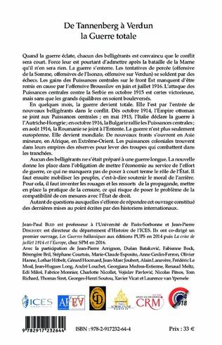 4eme De Tannenberg à Verdun la Guerre Totale