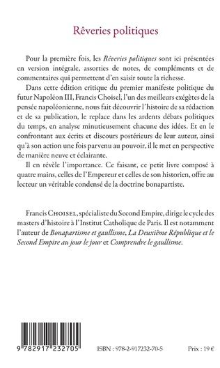4eme REVERIES POLITIQUES