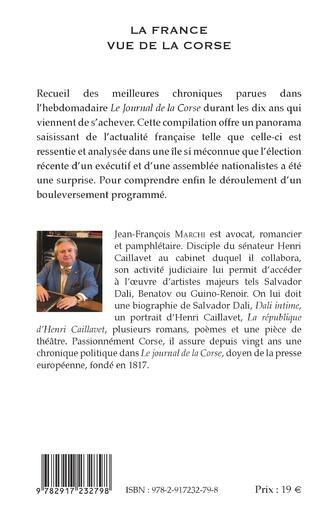 4eme La France vue de la Corse