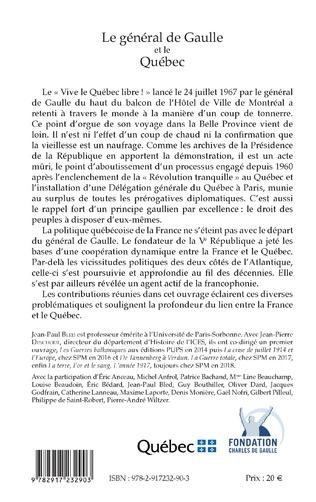 4eme Le général de Gaulle et le Québec