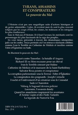 4eme Tyrans, assassins et conspirateurs