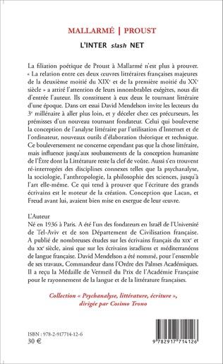 4eme Mallarmé / Proust
