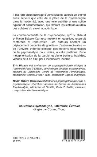 4eme La psychanalyse est-elle contemporaine ?