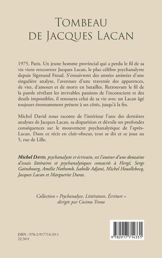 4eme Tombeau de Jacques Lacan