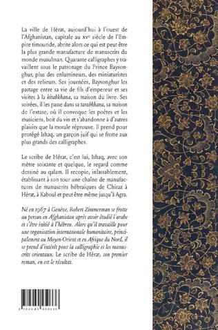 4eme Le scribe de Hérat