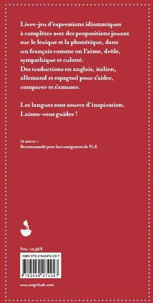 4eme Comme q et chemise, l'abécédaire multilingue des expressions idiomatiques