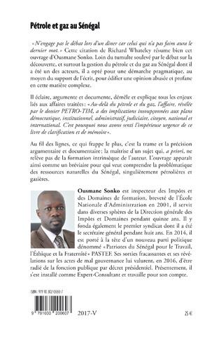 4eme Pétrole et gaz au Sénégal