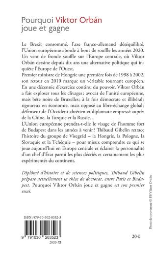 4eme Pourquoi Viktor Orban joue et gagne