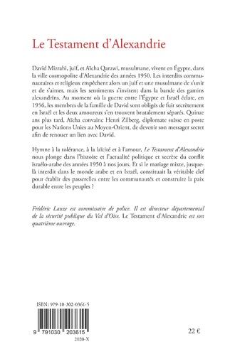 4eme Le Testament d'Alexandrie