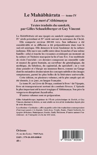 4eme Le Mahabharata - Tome IV