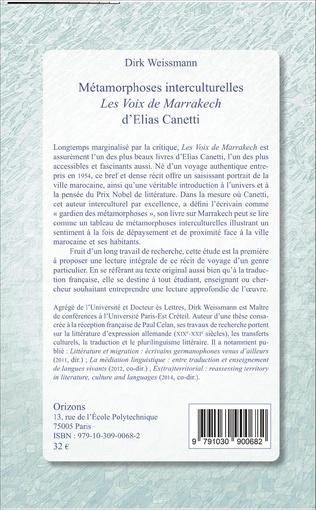 4eme Métamorphoses interculturelles