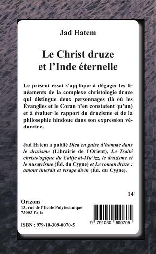 4eme Le Christ druze et l'Inde éternelle